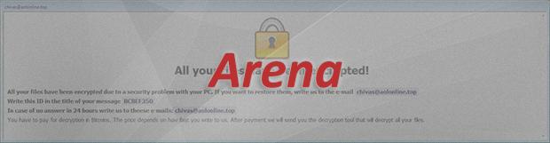 Arena 랜섬웨어를 제거합니다: .arena 파일 바이러스 해독