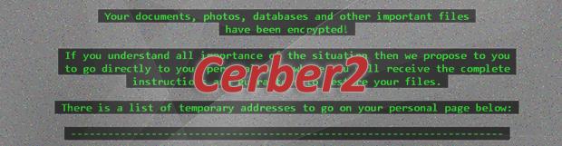 Cerber2 랜섬웨어 바이러스 복호화 및 복구