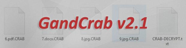 .CRAB 파일 해독: GandCrab v2.1 랜섬웨어 제거