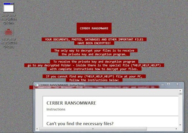 _HELP_HELP_HELP Cerber Ransomware