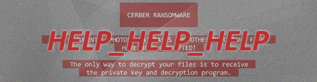 바이러스 HELP_HELP_HELP: Cerber 랜섬웨어 2017 복구