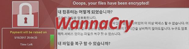 알약 WannaCry ransomware (워너 크라이 랜섬 웨어)