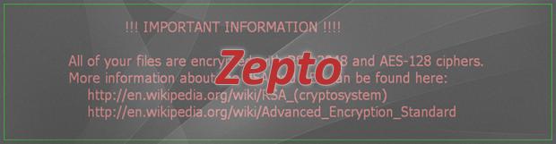 Zepto 랜섬웨어 제거 및 복구 가이드: .zepto 파일 바이러스 해독